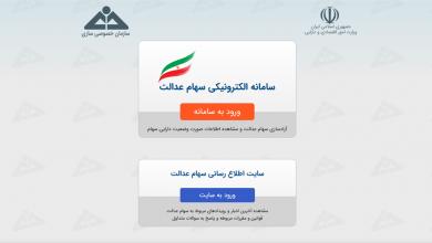 تصویر در راهنمای جامع طرح آزادسازی سهام عدالت ایرانیان